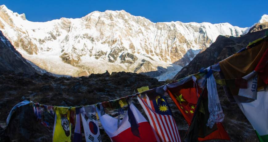 most beautiful base camp treks in Nepal