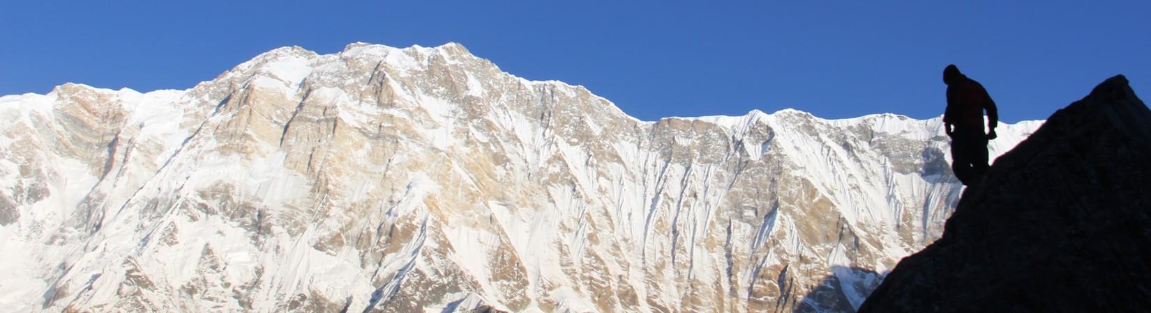 Mt. Annapurana 8,091m.