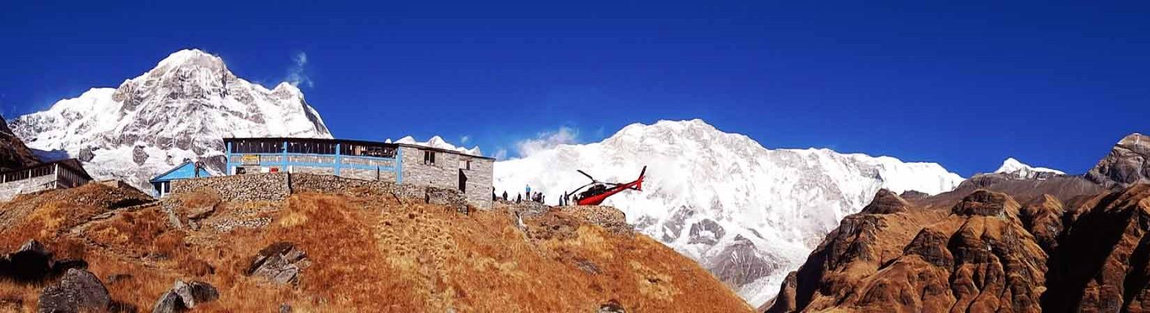Annapurna Heli Trek