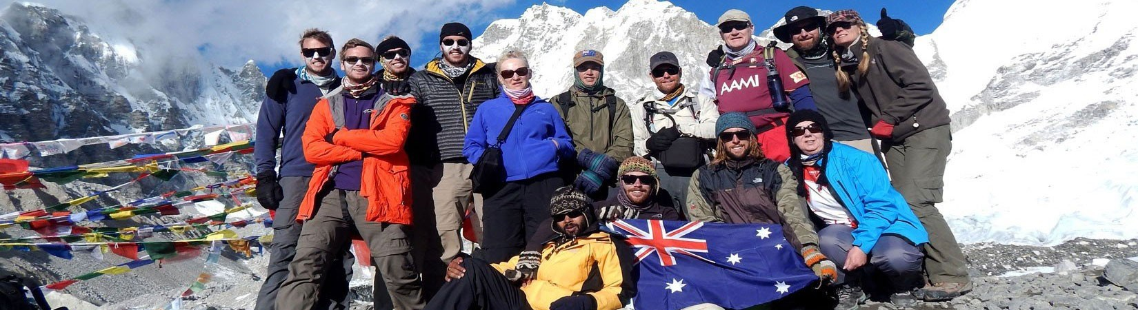 Australian Group at Everest Base Camp