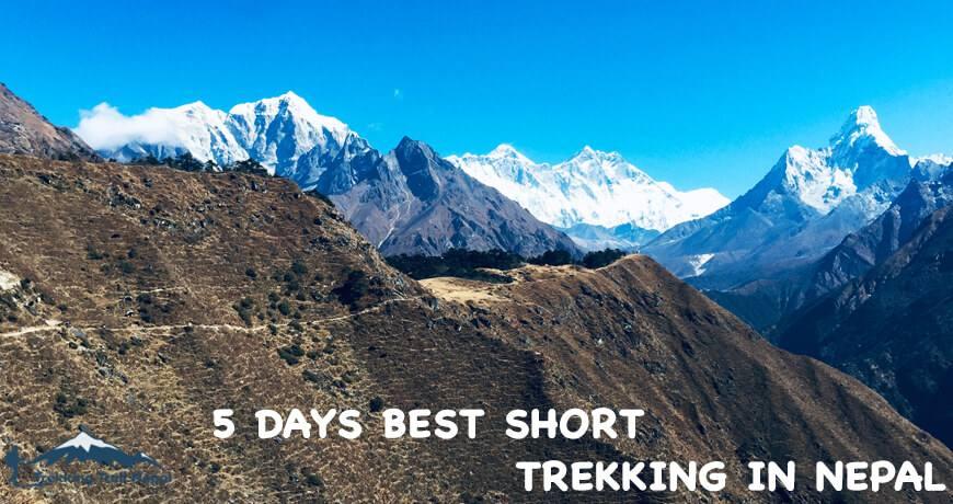 5 Days Best Short Trekking in Nepal