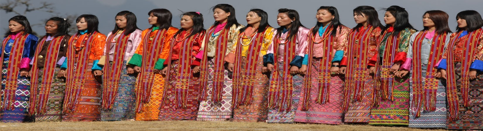 KIRA; National Dress for Women of Bhutan
