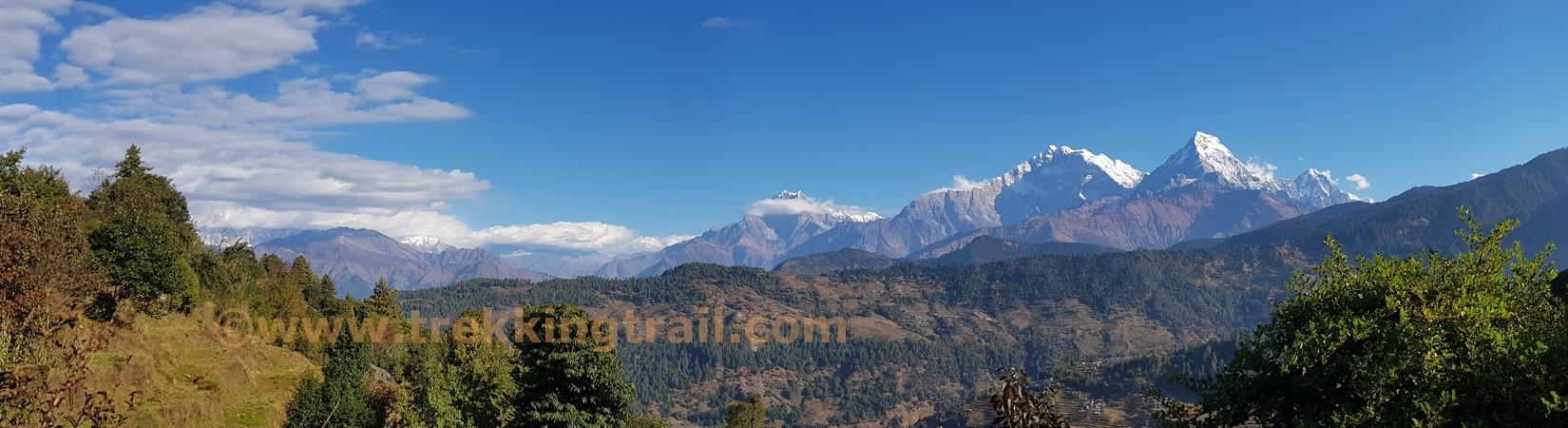 dhaulagiri sanctuary trekking