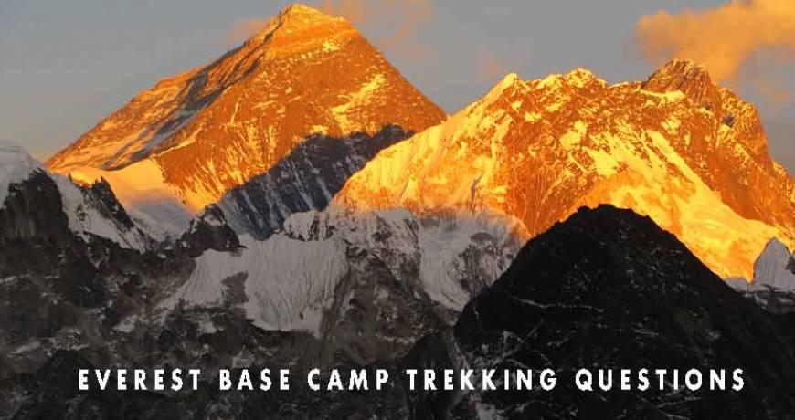 Everest Base Camp Trekking Question