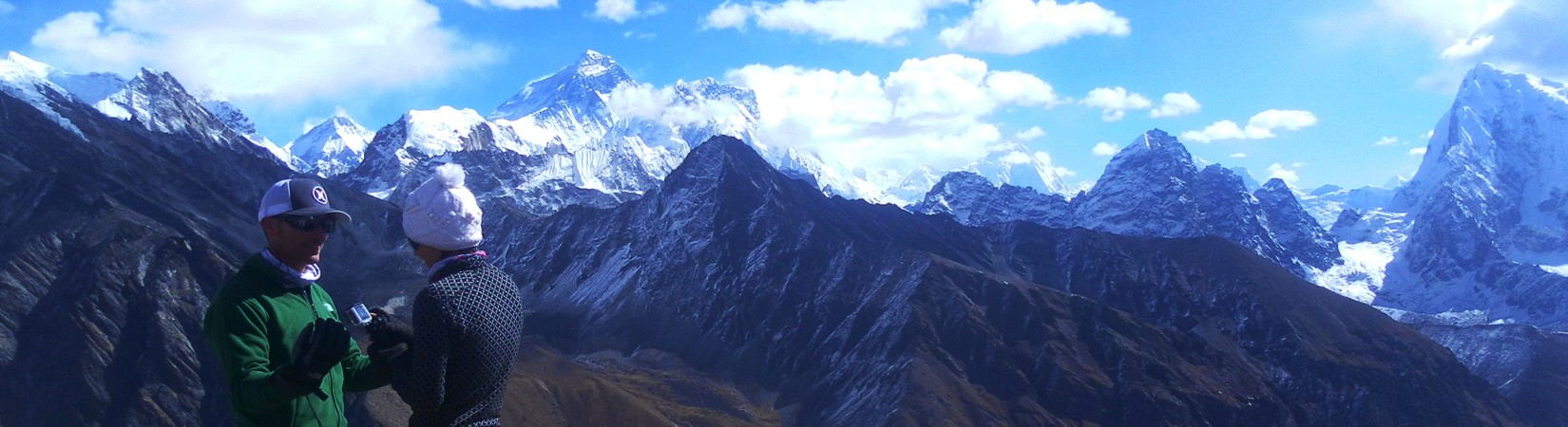 everest cho lapass trek with gokyo lake