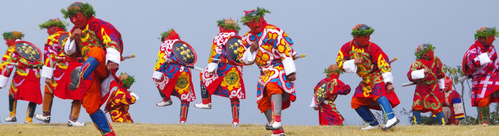 Traditional Dancing Festivals Tours In Bhutan