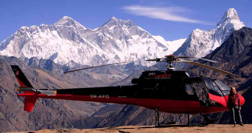 Heli Trek to Everest Base Camp