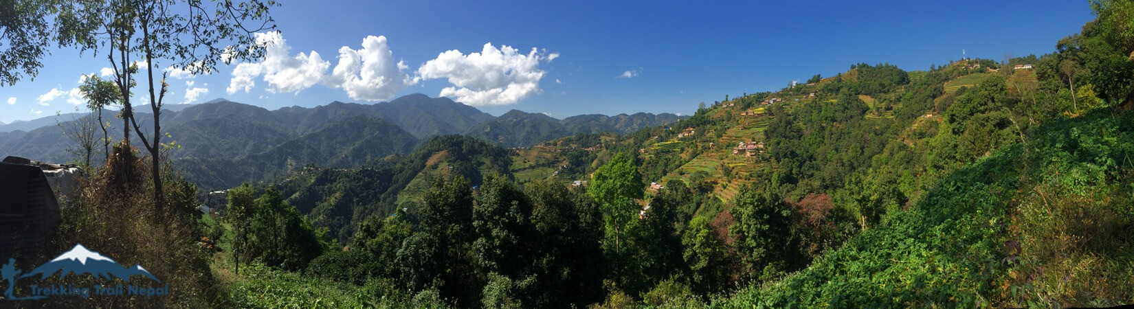 View from Ranikot Village Hiking