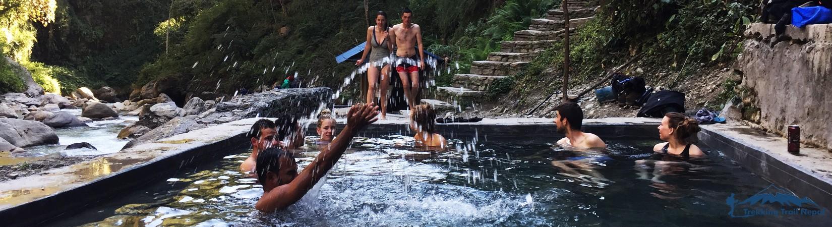 Jhinu Danda Hot Spring Pool