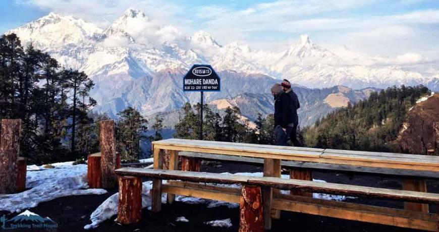 mohare danda trek beautiful trek in nepal