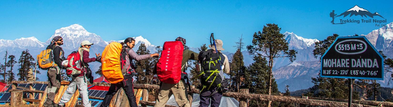 Trek in Nepal 2022 - Mohare Danda