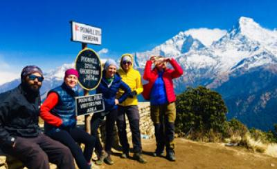 3 Days Short Poon Hill Trekking from Pokhara