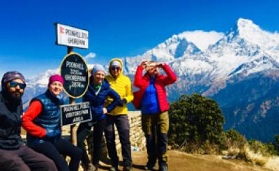 Annapurna Circuit Trek with Poon Hill