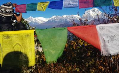 dashain and annapurna base camp via mohare danda trek