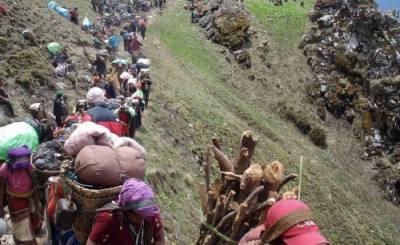 guerrilla trekking