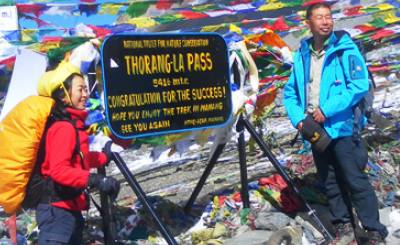 Short Annapurna Circuit Trek